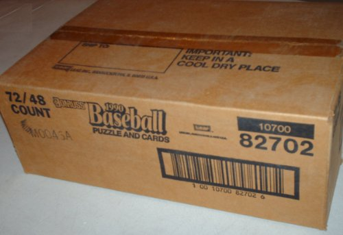 (1990 Donruss Factory Sealed Rack Pack Baseball Card Case)