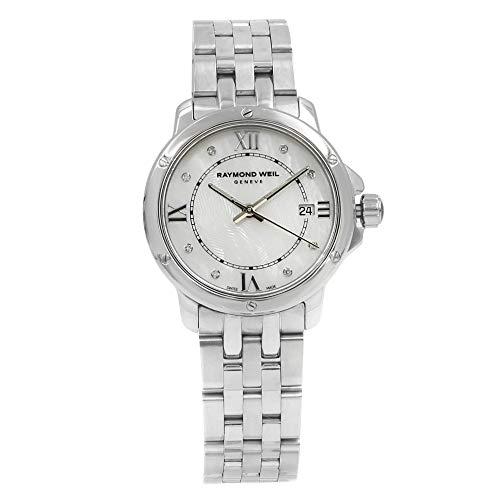 Raymond Weil Tango Silver Dial Stainless Steel Quartz Ladies Watch - Raymond Weil Diamond Tango Watch