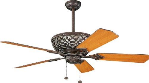 Kichler 300113TZ Cortez 52-Inch Cortez Fan, Tannery