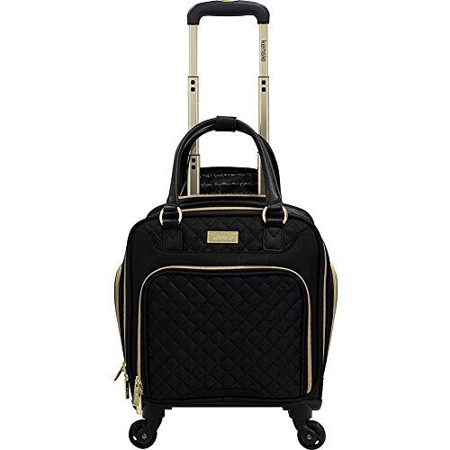 kensie-luggage-16-multifunction-rolling-spinner-under-seater-black