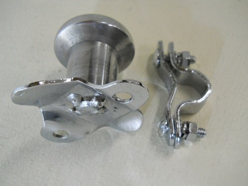 [해외]유나이티드 퍼시픽 폴리싱 알루미늄 헤비 듀티 스티어링 휠 스피너 70108/United Pacific Polished Aluminum Heavy Duty Steering Wheel Spinner 70108
