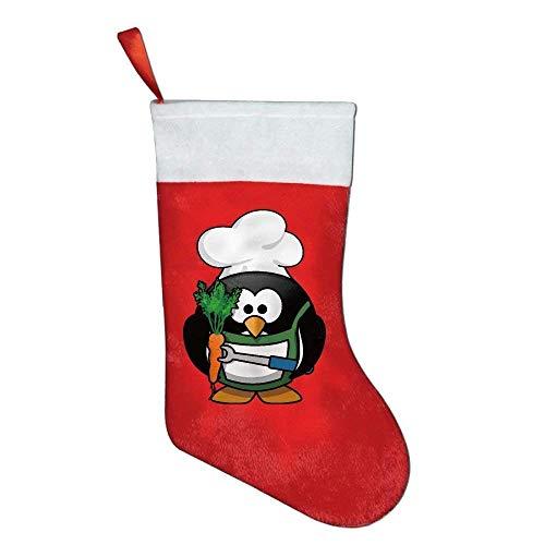 Santa Chef Felt - YISHOW Christmas Stockings Classic Cartoon Lobster Chef Felt Party Accessory Santa Claus Merry Christmas