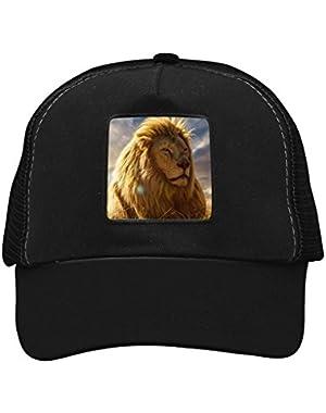 Unisex A Lion Adjustable Classic Hiphop Hat Baseball Cap Snapback Dad Hat