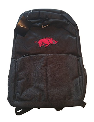 - Nike Arkansas Razorbacks Basic Front Packet Backpack Black
