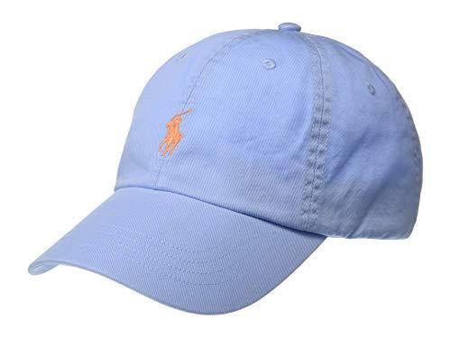 Polo Ralph Lauren Cotton Chino Baseball Cap (Blue)