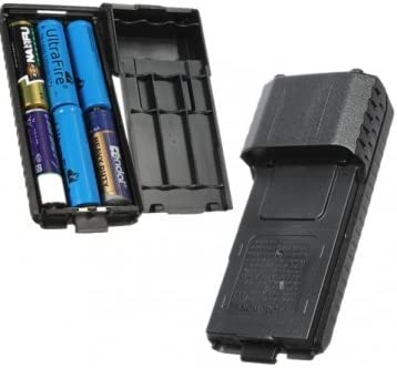 Extended 6x AA Battery Case Pack Shell For BaoFeng UV5R UV5RB UV5RE: Amazon.es: Electrónica
