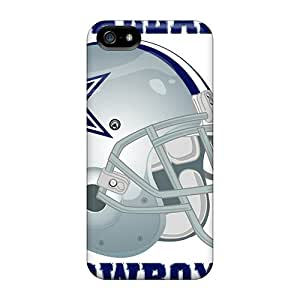 EEY3820yHJY Tpu Phone Case With Fashionable Look For Iphone 5/5s - Dallas Cowboys