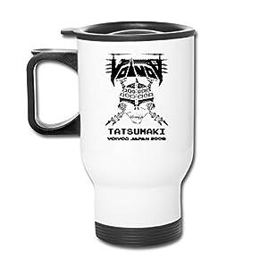 Cheap Voivod Canadian Heavy Metal Band Contigo Coffee White