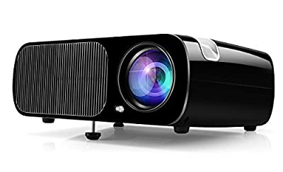 Projector Ogima Home Cinema Theater LED1080P HD 3D Video Projector Support HDMI VGA AV USB Games