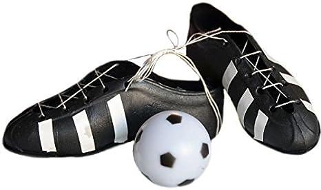 Amazon.com: Zapatillas de fútbol y bola decoración para ...