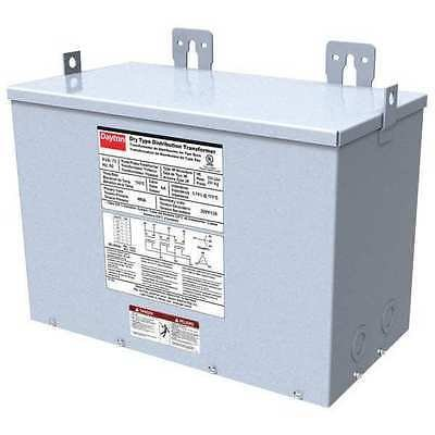 DAYTON 44YV18 General Purpose Transformer,480VAC,15kVA G4610000 ()