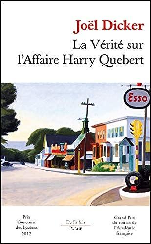"""Résultat de recherche d'images pour """"La Vérité sur l'affaire Harry Quebert"""""""