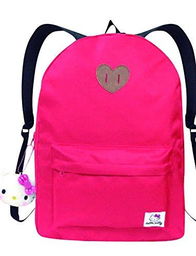 precio al por mayor Daypack with with with Hello Kitty mascot rojo KT-4381  echa un vistazo a los más baratos