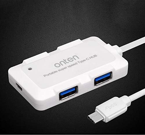 New Portable Good Quality Super Speed 4 Ports USB 3.0 Hub Splitter Adapter GV
