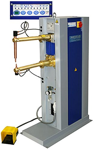 PROFAB Electric Spot Welding Machine Sheet Metal Fabrication//HVAC Duct Production Air Operated Rocker Arm with Foot Pedal Control /& ProCool II