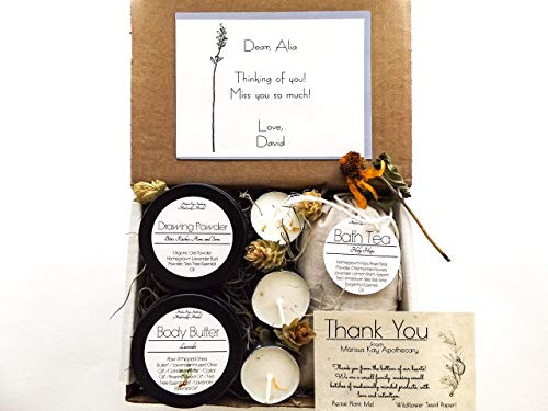 Personalized Gift Box | Self-Care Box | Homegrown Medicinal Herb | Handmade + Hand Drawn