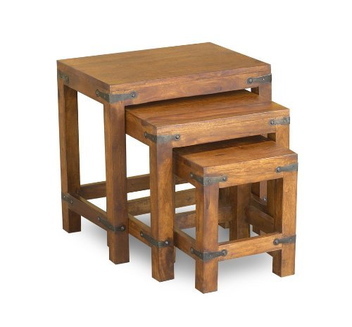 Timbergirl Hand-Crafted Rustic Nest of Tables by Timbergirl