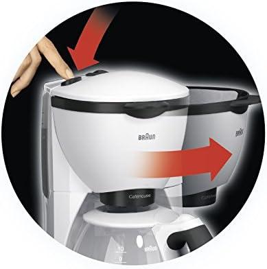 Braun KF 520/1 - Cafetera de espresso manual, color blanco: Amazon ...