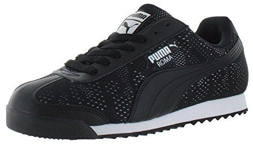 Puma Mens Ingénieur Roma Camou Noir / Blanc
