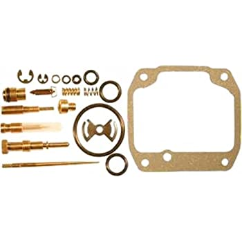 DP 0101-130 Carburetor Rebuild Repair Parts Kit Compatible with Suzuki 85-86 LT230GE 86-87 LT-F230 87-88 LT230E QuadRunner