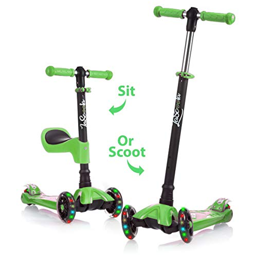 2-in-1 Kick Scooter