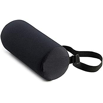 Amazon Com Vive Lumbar Roll Cushion Support Pillow For