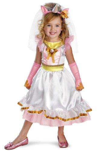 Hasbro My Little Pony Canterlot Royal Wedding Dress Costume, Pink/White/Gold, (Royal Wedding Dress Halloween Costume)