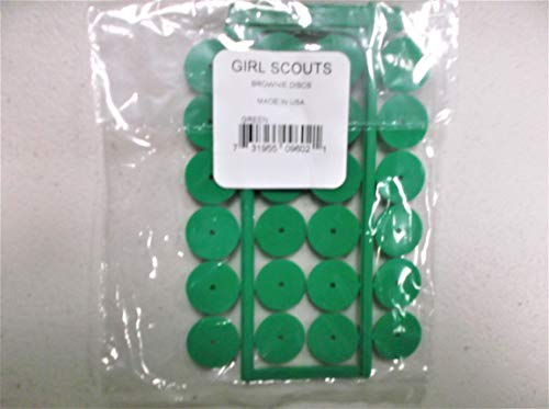 Brownie Costume Scout Girl - Girl Scout Brownie Discs