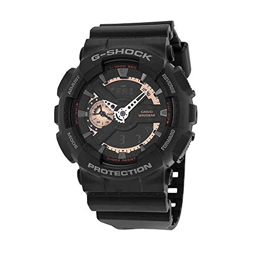 Casio Men's GA110RG-1A G-Shock Black Watch from Casio