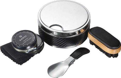 Visol Products Buff Shoe Polish Travel Kit