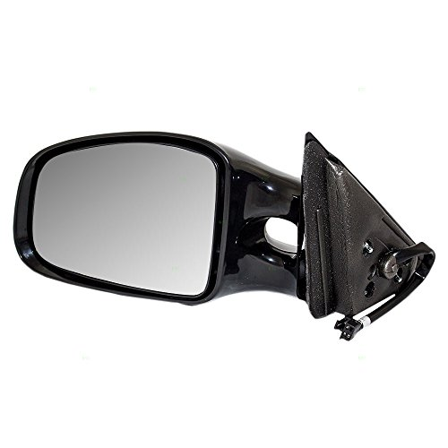 (Drivers Power Side View Mirror Smooth Replacement for Pontiac 10312053 )