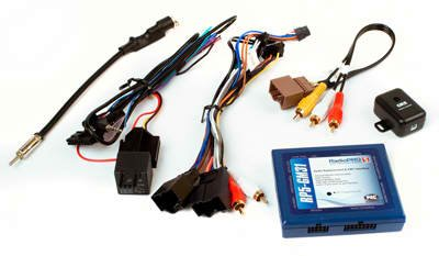 PAC RP5-GM31 Radio Replacement Interface With Built-In OnStar Retention/Steering Wheel Control Retention/Navigation Outputs for Select GM LAN ()