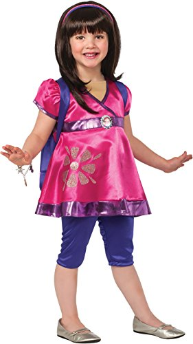 Rubies Dora and Friends Deluxe Dora The Explorer Costume, Child Small (Dora The Explorer Costumes)