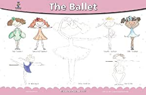 The Ballet Placemat