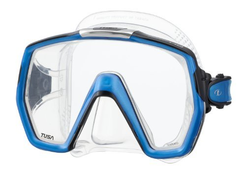 Tusa M1001 Freedom HD Scuba Diving Mask - Fish Tail Blue by Tusa by Tusa