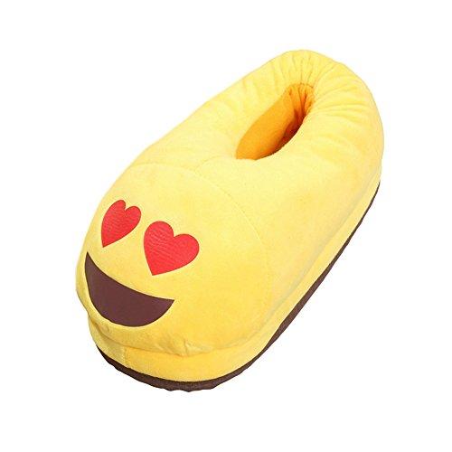 Unisex Femme Couple Chaussure Homme Emoji Peluche Expression Butterme Style Soft Chaussons Drôle Mignon 2 Chaude Cartoon d5vnTW