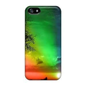 New Arrival BzgQhFB921AiQkQ Premium Iphone 5/5s Case(rainbow Sunset)