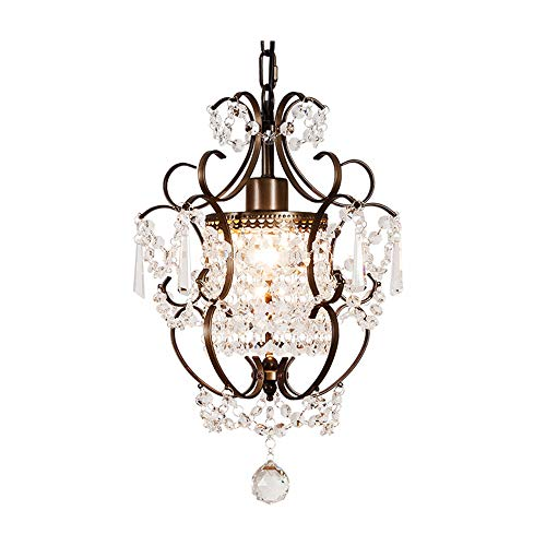 Windsor Home Deco WH-63401 Modern Crystal Hanging Pendant Lights, Crystal Chandeliers Bedrooms, Pendant Lighting