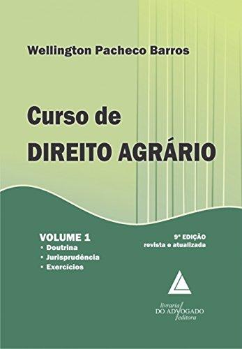 Curso De Direito Agrário: Doutrina, Jurisprudência E Exercícios