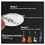 Pick Holder Easy to Stick on Guitar Suitable for