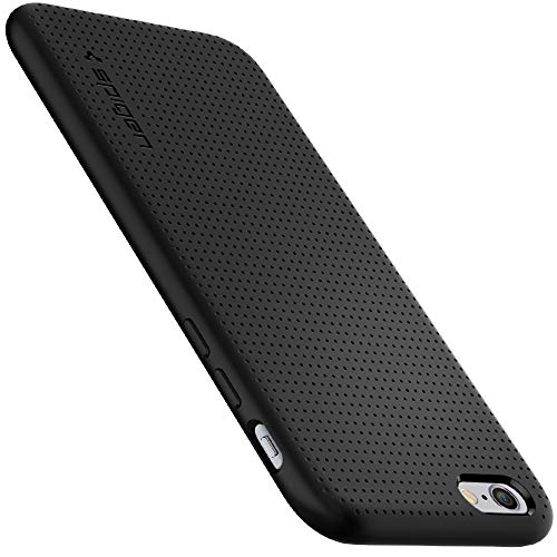 Spigen Liquid Air iPhone 6S Case with Durable Flex and Easy Grip Design for iPhone 6S 2015 - Black