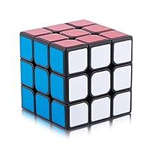D-FantiX Moyu Yj Cubing Classroom MoFang JiaoShi MF3 Speed Cube 3x3 Puzzle Cube Black