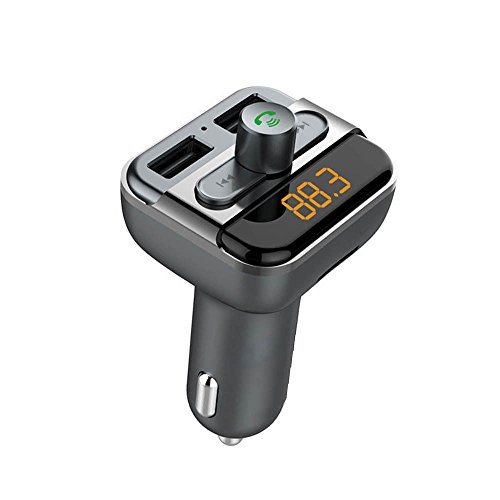Mp3 Fm Transmitter Review - Handsfree Wireless Bluetooth FM Transmitter Car Kit Mp3 Player with USB Charger
