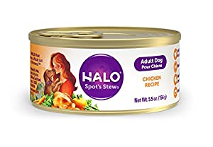 Halo Holistic Natural Wet Dog Food for Adult Dogs