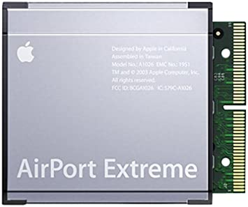 APPLE AIRPORT EXTREME CARD M8881LL//A WIFI for IMAC EMAC IBOOK POWERBOOK