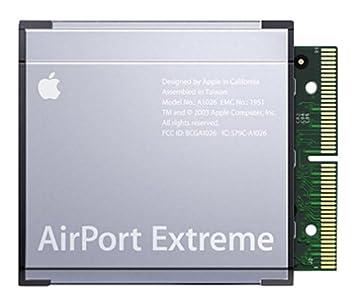 Amazon.com: Apple m8881ll/una tarjeta de Airport Extreme ...