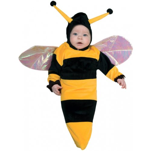 Lil Bumble Bee Baby Infant Costume - (Baby Bee Bunting Costumes)