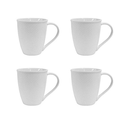 Elle Décor 6827-4M Chloe Set Coffee Mugs, - Coffee Chloe