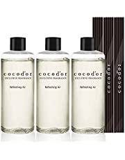 Cocod'or Reed Diffuser Oil Refill/6.7Oz/Refreshing Air/3 Pack