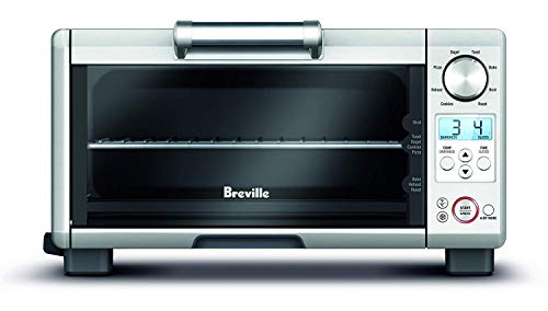 Breville the Mini Smart Oven 1800-Watt Compact Toaster Oven – BOV450XL